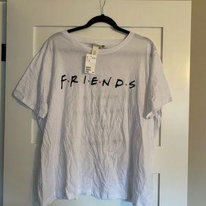 BNWT- friends tee